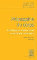 Andrieu Bernard, philosophies du corps