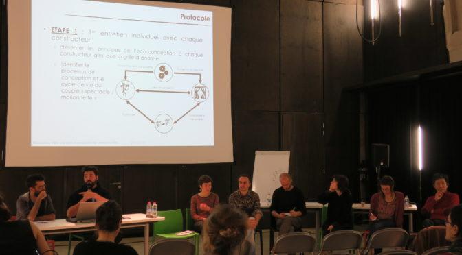 Eco-conception de marionnettes – Atelier collectif et présentation publique – Carnets d'Orbis